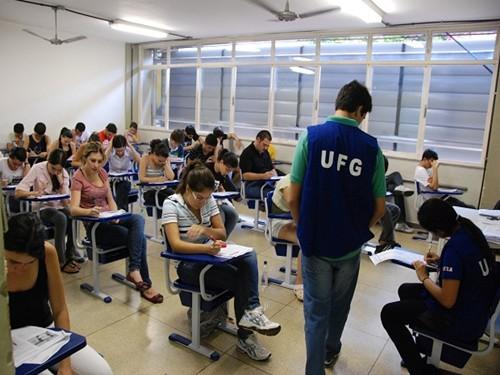 Processo seletivo UFG cursos gratuitos