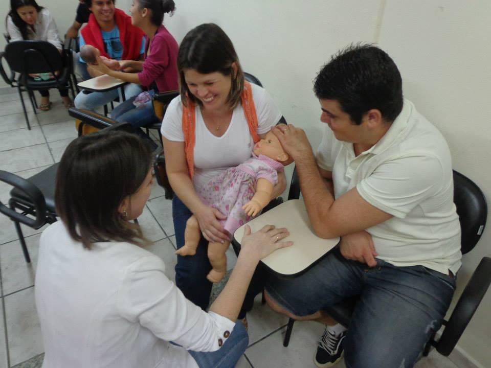 Curso de gestante em Santa Catarina