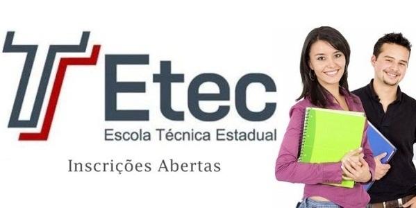 Inscrições ETEC 2015