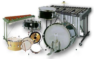 Curso de percussão