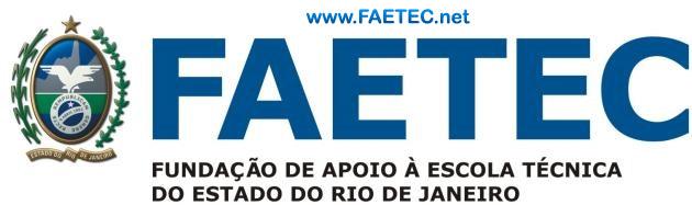 Cursos Gratuitos FAETEC Rio 2017