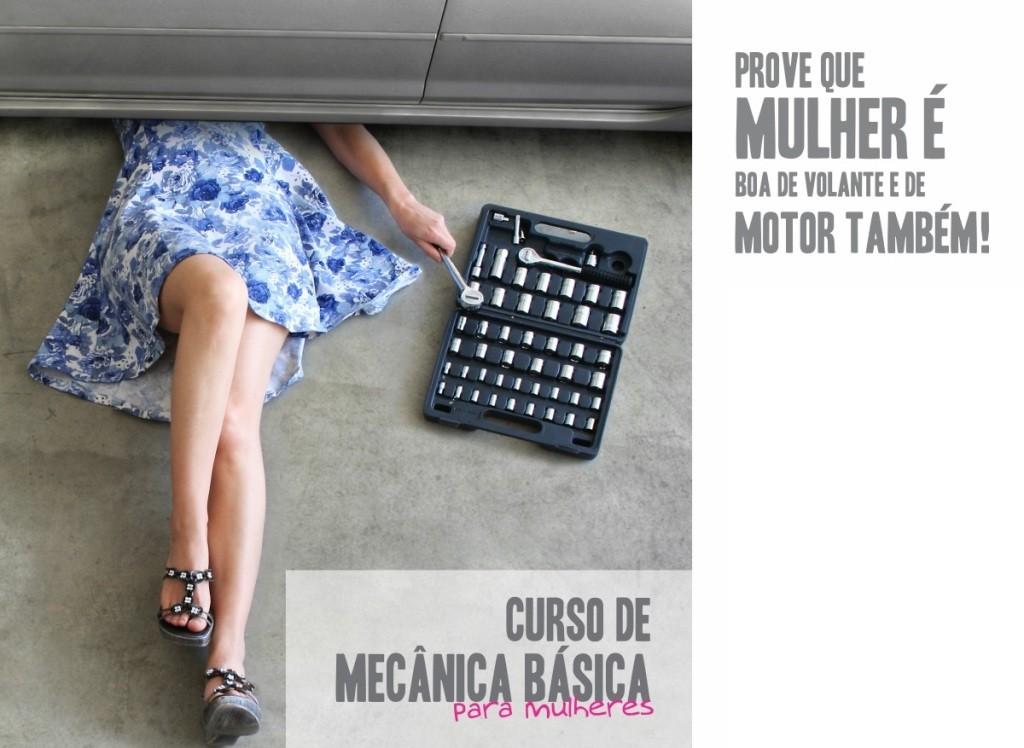 Cursos Rápidos de Mecânica para mulheres