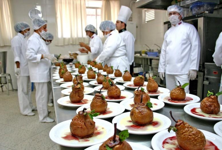 Faculdade gratuita de Gastronomia