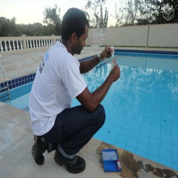 Curso de tratamento de piscina