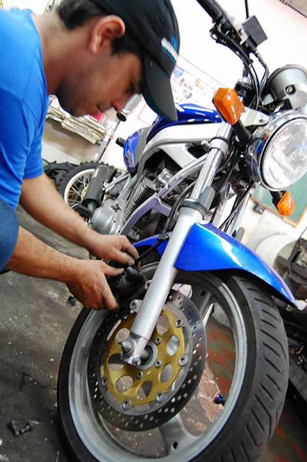 Curso mecanica de moto