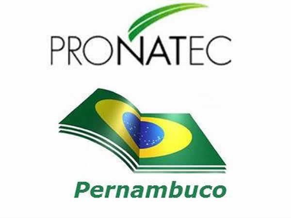 Cursos educação PE Pronatec 2018
