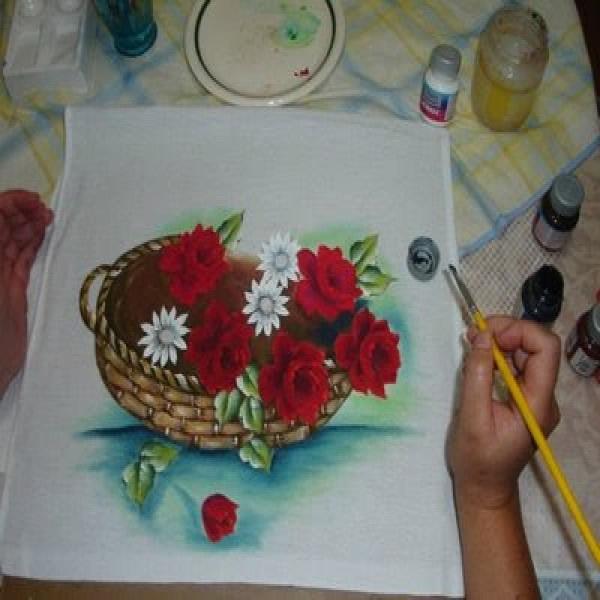 Pintura em tecido 2
